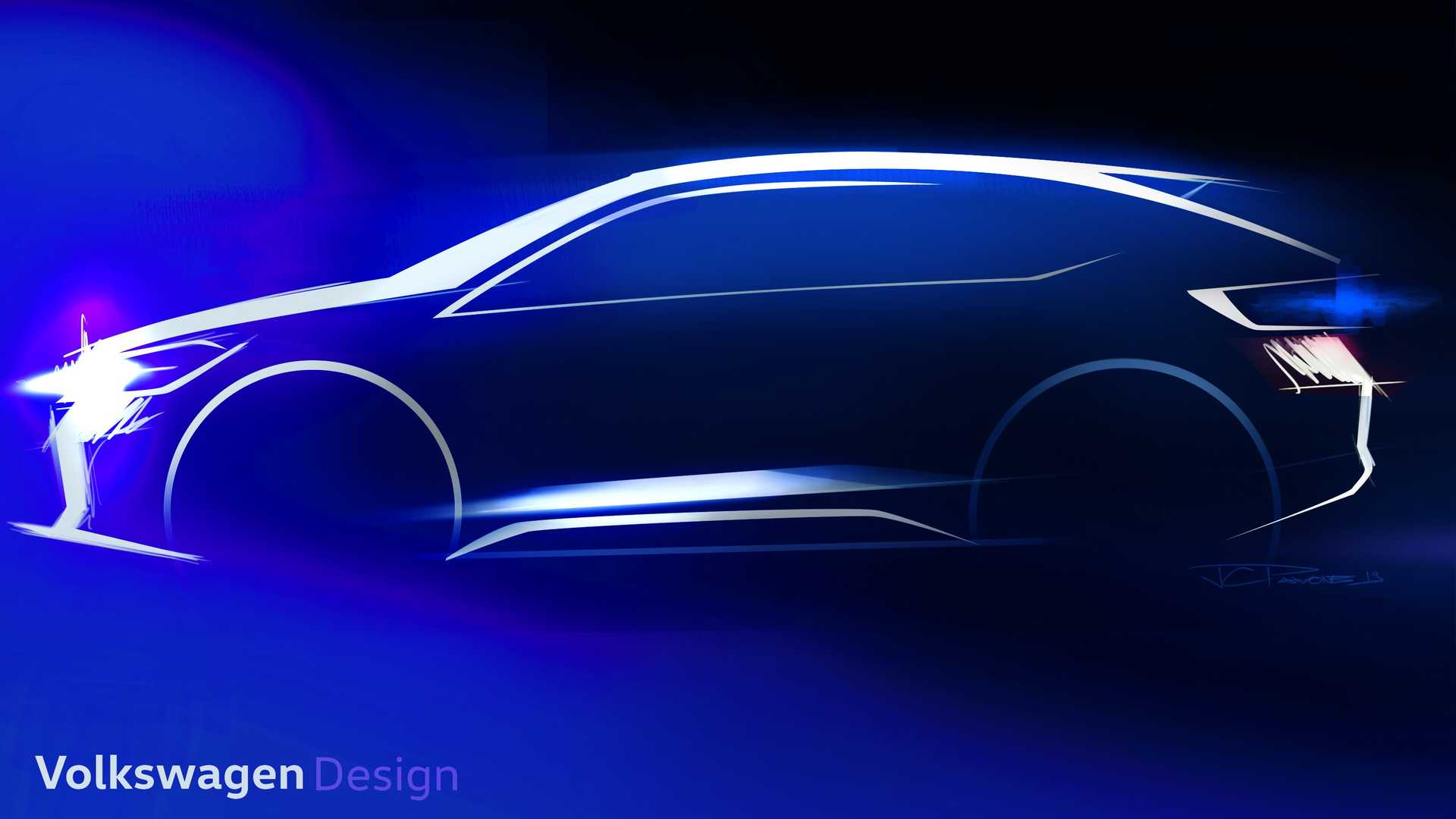 VW New Urban Coupe Is a Small Swoopy Crossover Coming Soon