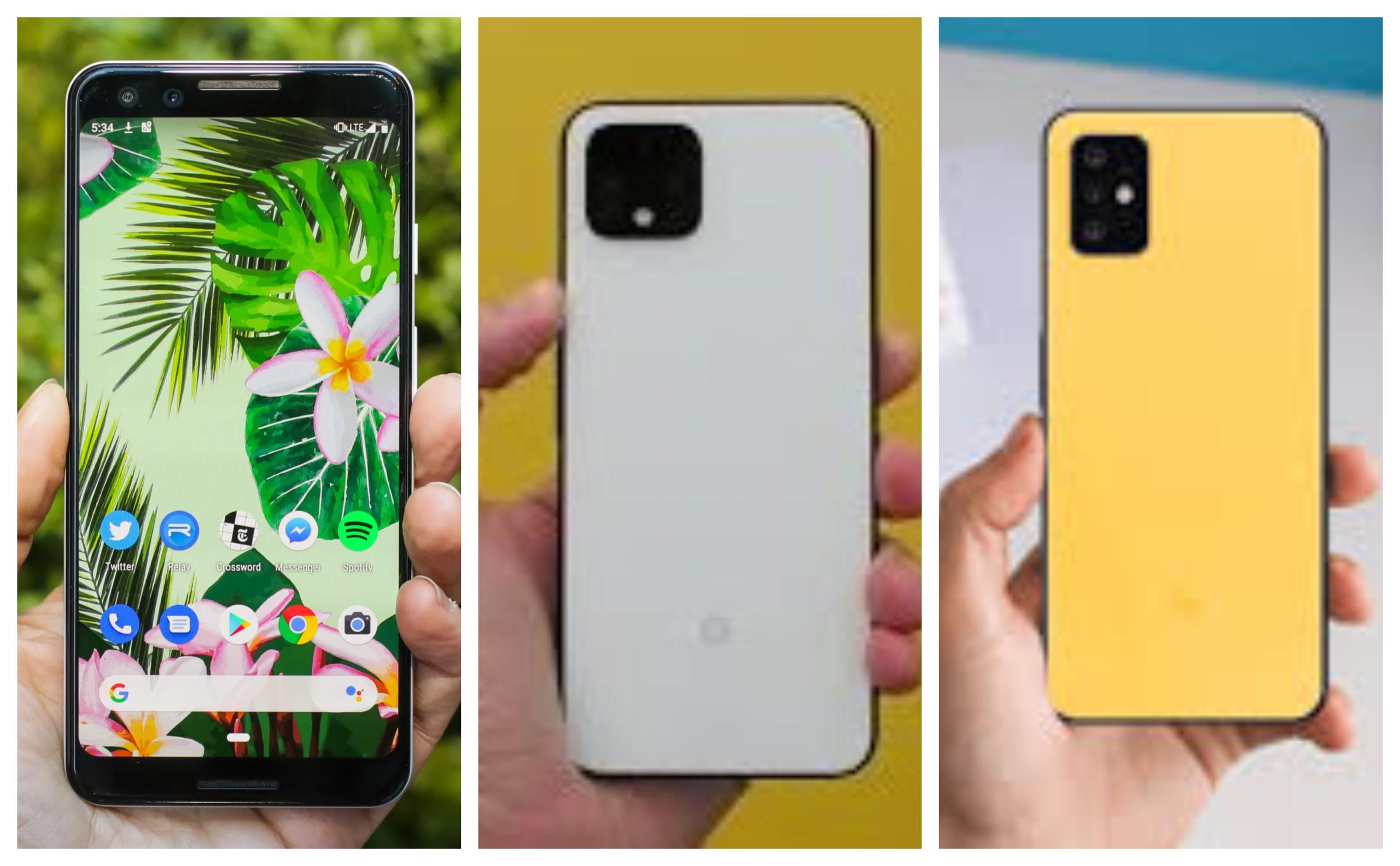 Google Pixel 3, Pixel 4, and Pixel 5 Camera Comparison