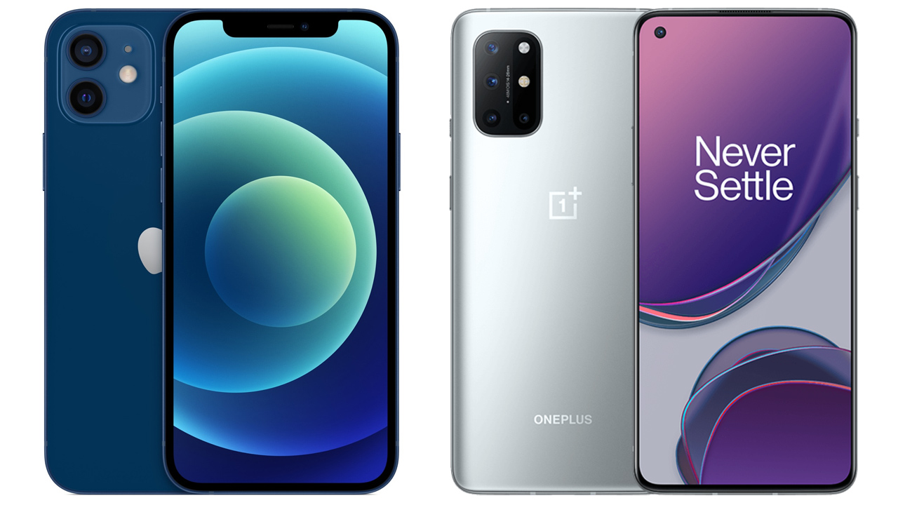 ONEPLUS 8T VS. IPHONE 12: WHICH ONE IS THE BEST OPTION FOR YOU?
