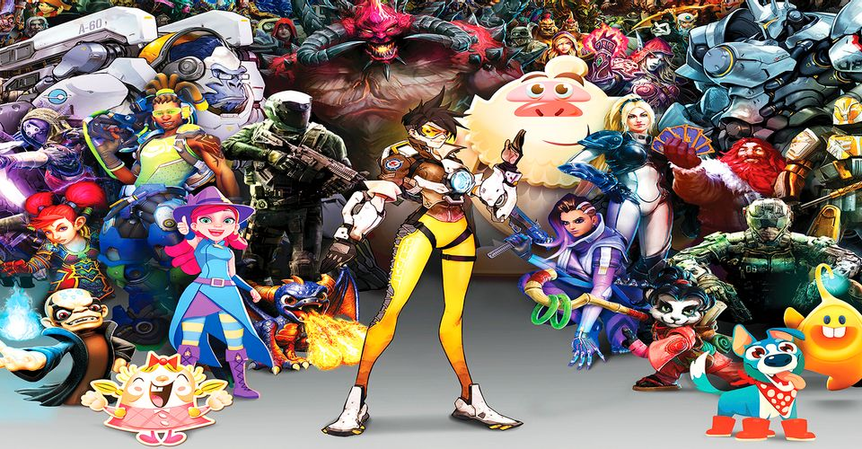 Activision Blizzard will release all its franchises on the mobile platform