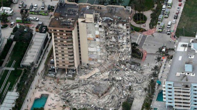 Miami Beach Condo Collapse Death Toll Nears 100