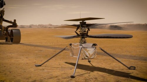 The Success of NASA's Ingenuity Helicopter Paves Way for Bigger Aircrafts